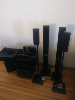 Home audio, surround sound system, receivers, subs, blu ray player for Sale in Minneapolis, MN