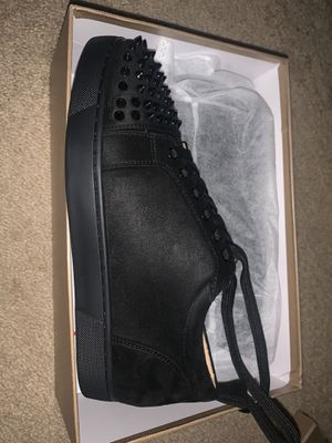 Christian Louboutins size 9.5 shoes Black for Sale in Pittsburgh, PA