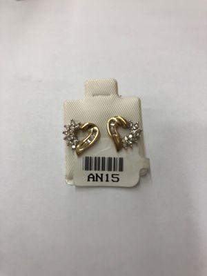 Hearts diamond earrings for Sale in Fullerton, CA