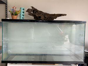 50 Gallon aquarium , free wood decor and another 40 gallon. for Sale in Fontana, CA