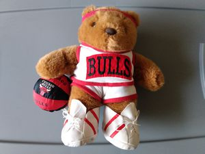 Chicago Bulls teddy bear for Sale in San Jose, CA