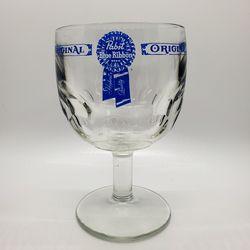 Vintage Pabst Blue Ribbon (PBR) glass goblet beer for Sale in Indian Head,  MD