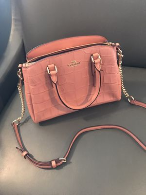 Coach mini sage carryall for Sale in Downey, CA