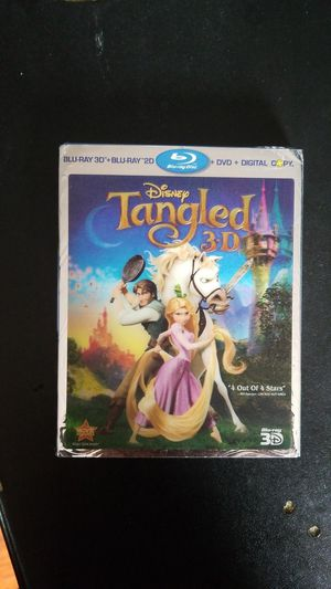 Tangled 3D NEW Bluray for Sale in Whittier, CA
