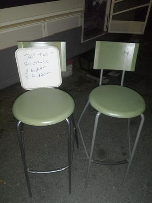 Two 30 inch bar stools for Sale in Federal Way, WA