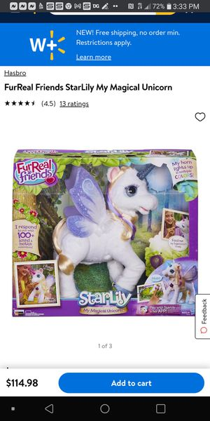 FurReal friends my magical unicorn. 100+ sound and motion. Make reasonable offer. for Sale in Spartanburg, SC