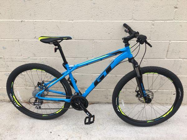 33b3fe5d5 Gt aggressor pro men s mountain bike medium frame for Sale in ...