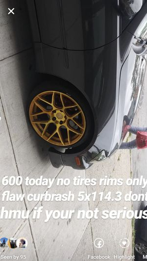 Aodhan Rims 5x114.3 18s for Sale in Queens, NY