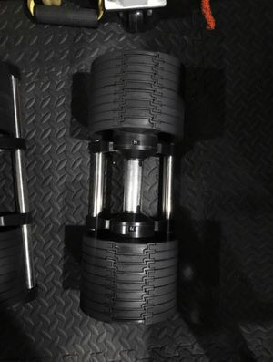 NUOBELL Flexbell 80Lb PAIR adjustable dumbbells BETTER THAN POWERBLOCK for Sale in Westminster, CA