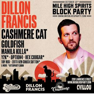 Mile high spirits block party for Sale in Denver, CO