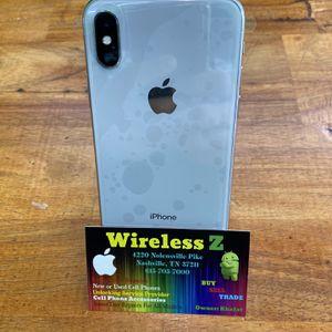 iPhone X 64gb factory unlocked T-Mobile,cricket,metro pcs,straight talk,att,Verizon,sprint,boost Factory unlocked for Sale in Nashville, TN