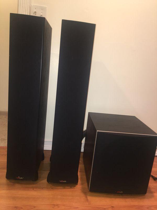 2 Polk Audio Monitor 60 Series II Floorstanding Speakers