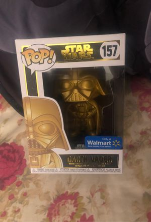 Darth Vader ( gold chrome Walmart exclusive ) for Sale in West Palm Beach, FL