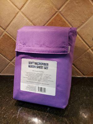 Brand New Beautiful Purple Queen Bedsheets Set for Sale in Manassas Park, VA