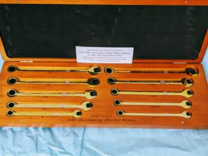 Craftsman 90th anniversary combination wrench set for Sale in Houston, TX