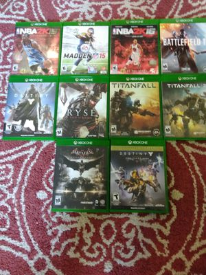 10 Xbox one games for Sale in Austin, TX