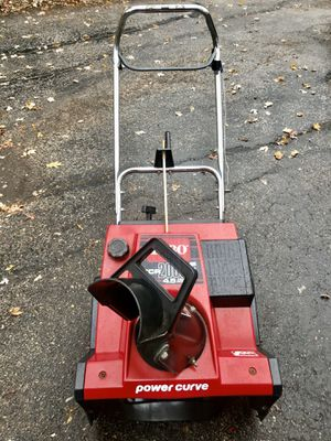 Toro CCR 2000E starts at first pull new paddles new scraper for Sale in Westmont, IL
