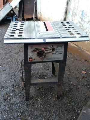 "10"" Table Saw for Sale in Elma, WA"