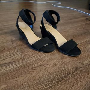 Black Wedge Sandals for Sale in Franklin, TN