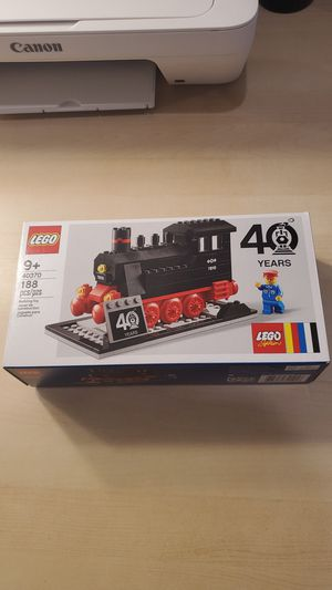 Lego 40370 Steam Engine 40th Anniversary Exclusive Promotion for Sale in Los Angeles, CA
