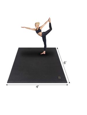 """New Large Yoga Mat 72""""x 48""""(6'x4') x 7mm for Pilates Stretching Home Gym Workout, Non Slip Exercise Mat Exercise Mat for Sale in Las Vegas, NV"""