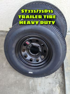BRAND NEW SPARE TIRE TRAILER FOR HEAVY DUTY TRAILER 6 SLUGS FOR ANY QUESTION TEXT ME PLEASE. for Sale in Los Angeles, CA
