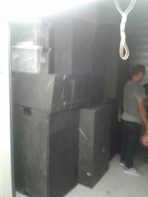 Complete DJ Equipment Demon Mixer set for Sale in Houston, TX