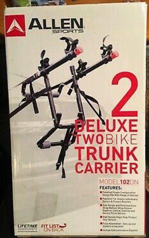 Two Bike Trunk Rack for Sale in Largo, FL