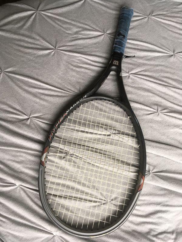 Tennis Racket - Wilson Hyper Carbon