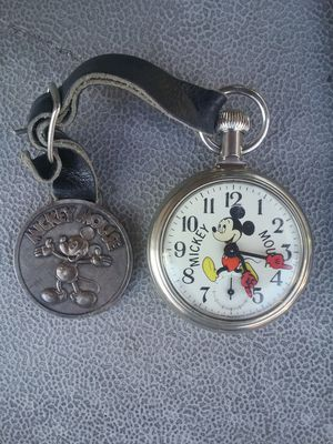 Mickey Mouse pocket watch, Coca-Cola, and Kareem Abdul Jabar for Sale in Downey, CA