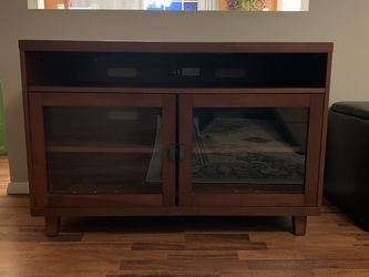 Cherry wood Entertainment Center for Sale in Pawnee,  IL