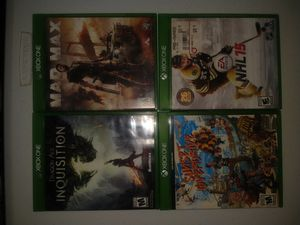 Xbox 1 games for Sale in Los Angeles, CA