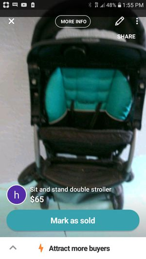 Sit and stand double stroller for Sale in North Port, FL