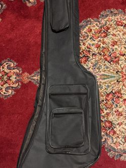 Explorer Bass Guitar Gig bag/ Soft Case for Sale in Everett,  WA