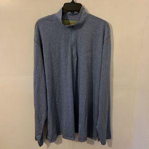 NEW Orvis Men's Trout Bum Dri Release Casting Tee Zipneck Fishing Long Sleeve Half Zip Pullover Shirt Size 2XL XXL for Sale in Trenton, NJ