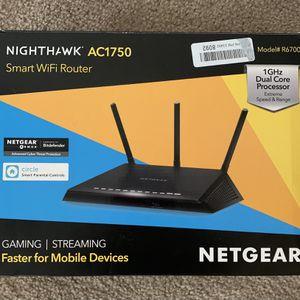 Netgear Nighthawk AC1750 Smart Wifi Router for Sale in Winchester, CA