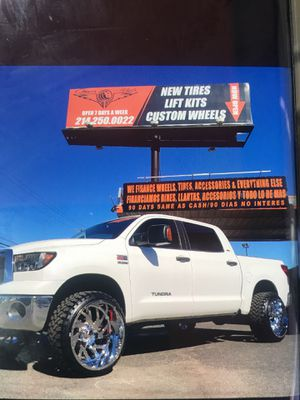 Truck lifts are Available right here in Mesquite Tx ..Great an Ez Financing is Available for Sale in Mesquite, TX