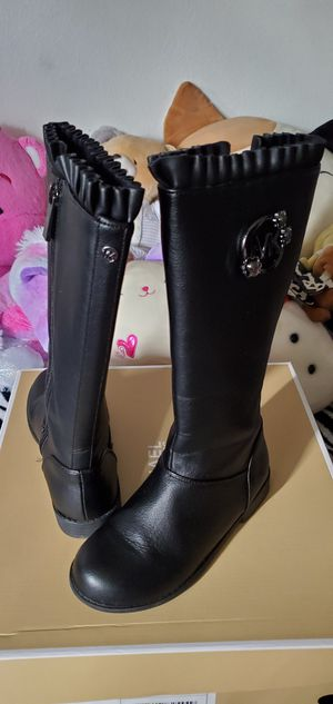 Michael Kors girls boots size 13 for Sale in Huntington Beach, CA