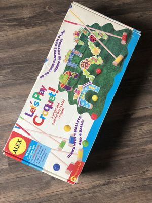 Alex toys kids croquet game for Sale in Citrus Heights, CA