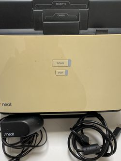 Neat ND-1000 Document scanner With USB Cable And power Adapter for Sale in Torrance,  CA