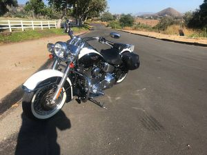 2005 Harley softail deluxe FLSTN for Sale in Murrieta, CA