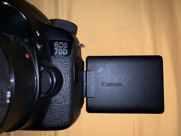 Canon 70D (USED) / 50mm Lens WORKS GREAT!!
