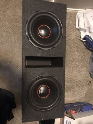 DB Drive Sub Woofer & Amp for Sale in Austin, TX