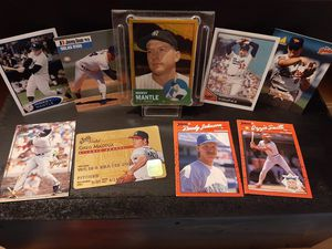 Baseball greats trading cards for Sale in Monterey, CA