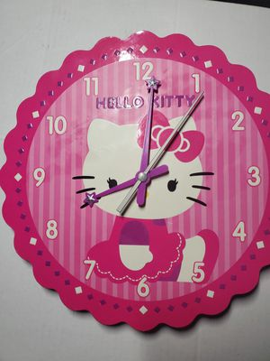 hello kitty clock for Sale in Colorado Springs, CO