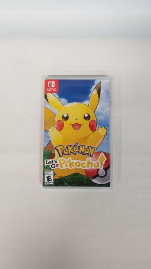 Nintendo Switch Pokemon Let's Go Pikachu (779708-14) for Sale in Tacoma, WA