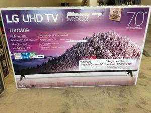 "LG 70"" TV 📺 70UM6970PUA 70"" clas N0P for Sale in McKinney, TX"