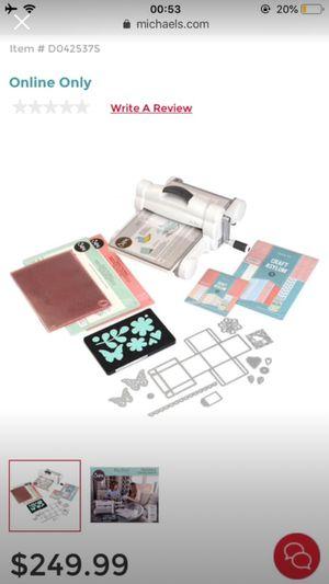 Sizzix plus starter kit for Sale in Atlanta, GA
