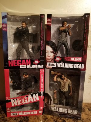 McFarlane The Walking Dead AMC Merciless Edition and Deluxe Edition 10-Inch Action Figures for Sale in Florissant, MO