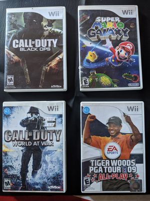Wii Games for Sale in Roosevelt, AZ